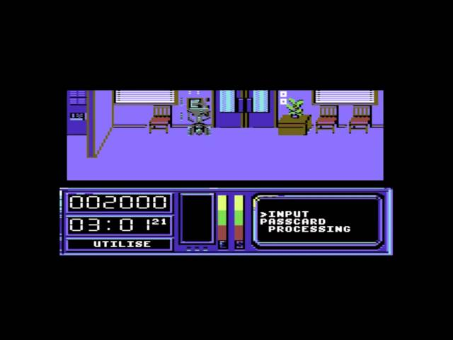 Short Circuit - C64 Gameplay footage