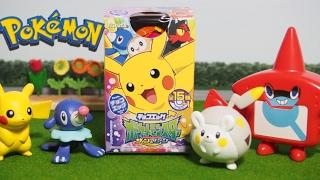 Pokemon Surprise Egg!! 「ピカチュウ&アシマリ、エッグチョコ泥棒をつかまえろ」