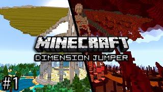 Minecraft: RETURN OF AWESOMENESS - Dimension Jumper 2 Part 1