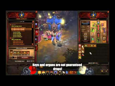 Diablo 3 Reaper of Souls - Hellfire Amulet Detailed Guide