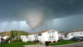 Billings Montana Tornado forming .mov