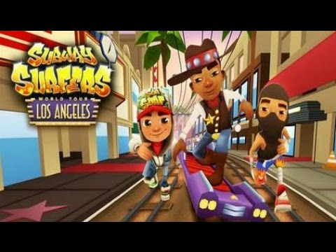 Subway Surfer Los Angeles Android İOS Tablet Gameplay Video Full HD