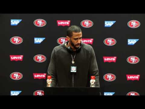 49ers Vs Rams Postgame Press Conference - Colin Kaepernick