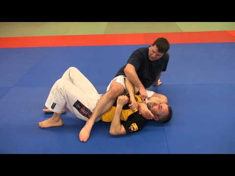 BJJ - Shin choke 'Gogoplata' when opponent resists the armbar Image 1