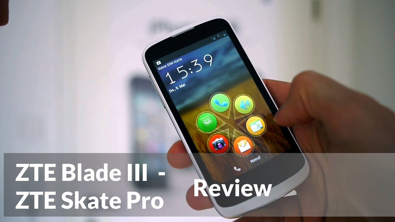 zte blade 3 review using pre-determined routes