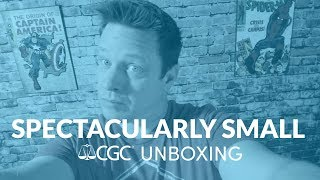 Spectacularly Small CGC Unboxing January 2019   Certified Comic Shop