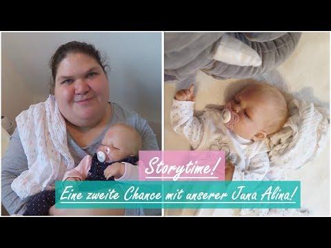 STORYTIME! || Unsere zweite Chance mit Juna Alina! || Reborn Baby Deutsch || Little Reborn Nursery