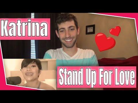 Katrina Velarde - Stand Up For Love Reaction