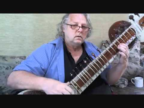 Raag Lalit - vilambit teental; Antar Richard Garneau ~ sitar