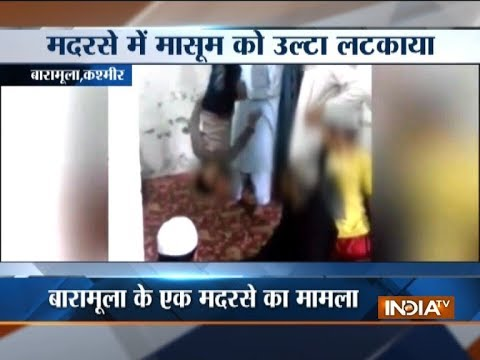 Cleric of Baramulla madrassa held for mercilessly beating up kid after video goes viral
