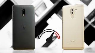 Nokia 6 vs Honor 6x Speedtest Comparison!