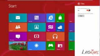 Windows 8 Release Preview : Installation in VMware and First Look