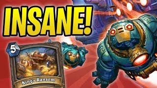 INSANE RANSOM Game vs Togwaggle Druid | Boom Mecha'thun Warrior | The Boomsday Project | Hearthstone