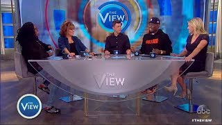 The View | July 31, 2017 : Mooch Split  - Actors Colin Jost and Michael Che