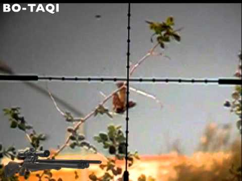 bo-taqi slow motion air rifle hunt air arms s510 tc 5.5