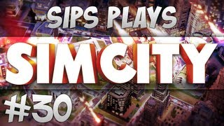 Sips Plays Sim City - Part 30 - Popular Toilets