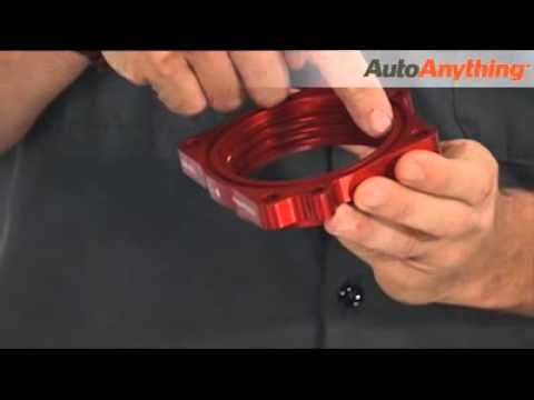 Airaid PowerAid Throttle Body Spacer Review - AutoAnything Product Demo