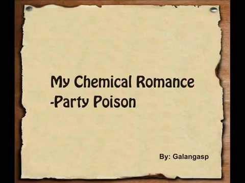 My Chemical Romance - Party Poison [Lyric]