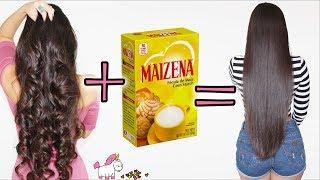Cabello Liso Natural Con Maizena 🌽 Este Alisado Sin Calor Funciona 🔥 Bessy Dressy