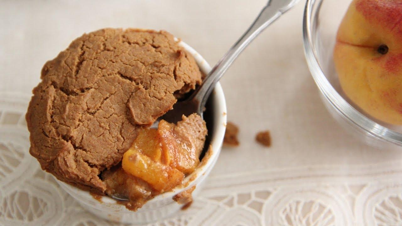Vegan peach biscuit cobbler recipe day 14 southern queen of vegan