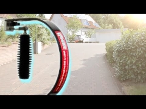 Hague Mini Motion Cam MMC Steadycam + Canon Eos 550D / Rebel T2i - Out of the Box Test!