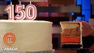 How To Taste & Recreate A Cake Blindfolded! | MasterChef Canada | MasterChef World
