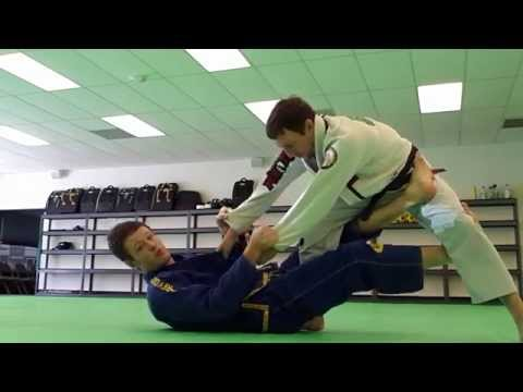 Revolution BJJ DLR Guard sweep #3 (standing), deep De la Riva guard Image 1
