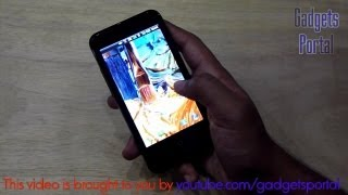 Micromax NINJA 4 A87 UNBOXING & hands on REVIEW by Gadgets Portal - EXCLUSIVE