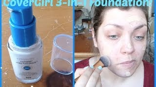 YouTube Made Me Buy It!: CoverGirl Outlast Stay Fabulous 3-in-1 Foundation