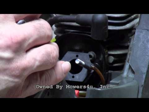 HOW TO INSTALL A POULAN CHAINSAW CARBURETOR