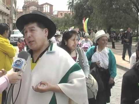COMUNIDADES INDIGENAS DEMOSTRARON MEDIANTE DESFILE COMO VIVEN LA FIESTA DEL TAITA CARNAVAL.m4v