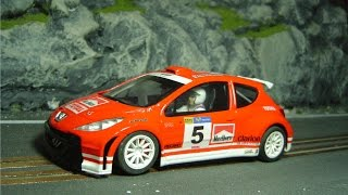 Slot car Scalextric Rally