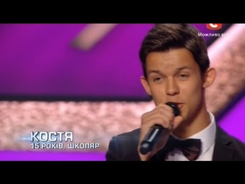 «Х-фактор-5» /Константин Черкас - Эта музыка(Андрей Grizz-lee cover) / Одесса (30.08.2014)