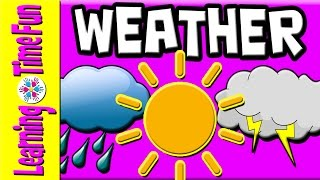 Learn the Weather for Kids | Weather Types | Weather English | Weather | Weather Children