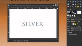 GIMP tutorials - text effects