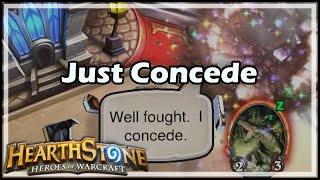 [Hearthstone] Just Concede