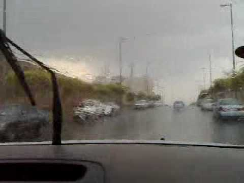 A rainy day in Saudi Arabia......
