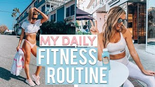 My Daily Fitness Routine | How I Keep 45 lbs OFF!