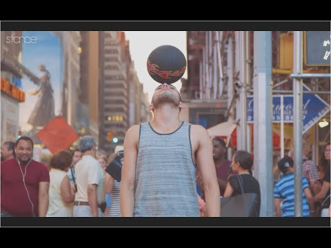 Incredible Freestyle Soccer Skills In New York City| Wass Freestyle Ball video