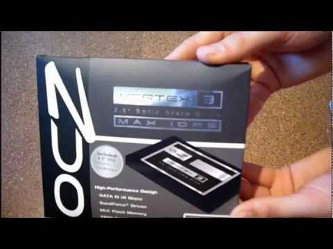 OCZ VERTEX 3 MAX IOPS 120GB (SSD) ---UNBOXING--- HD