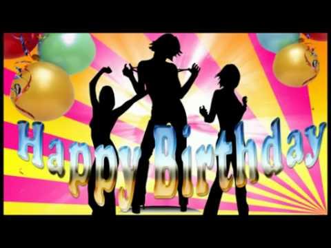 생일축하노래 - YouTube