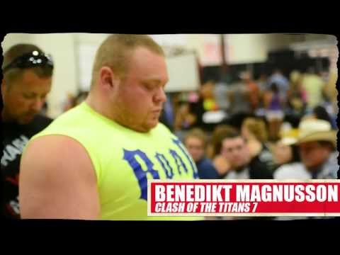 Benedikt Magnusson Raw Deadlifts Another 400KG (881 Pound) Competition Deadlift in Houston Image 1