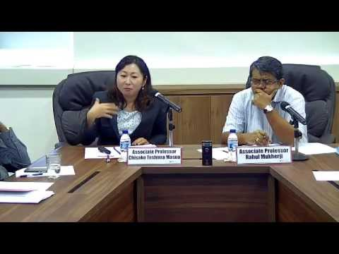 East China Sea : Negotiations and Issues Between Japan and China - Part 1 (8 Jan 2015)