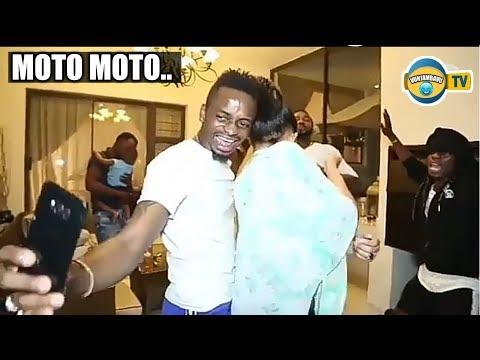 Diamond Akimbambia Zari Bila Aibu Mbele Ya Hadhara-Makulusa Dance