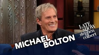 Michael Bolton Loves Music, Comedy And... Teaching Softball?
