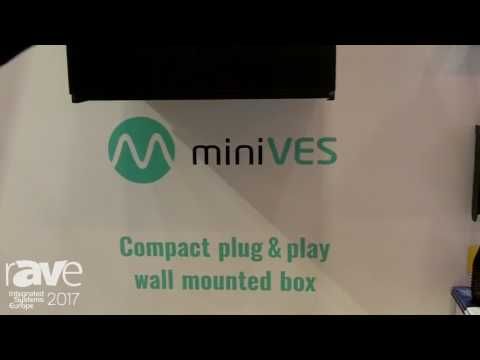 ISE 2017: Ambient System Introduces miniVES Voice Evacuation System