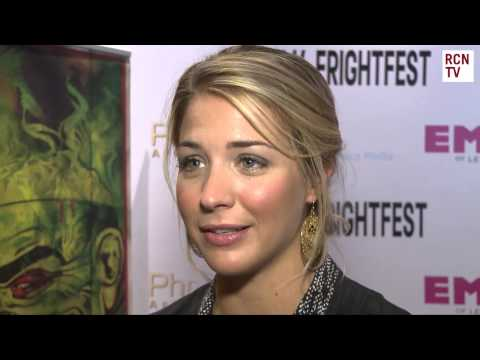 Gemma Atkinson & Holly Goss Interview - The Dyatlov Pass Incident Frightfest 2013