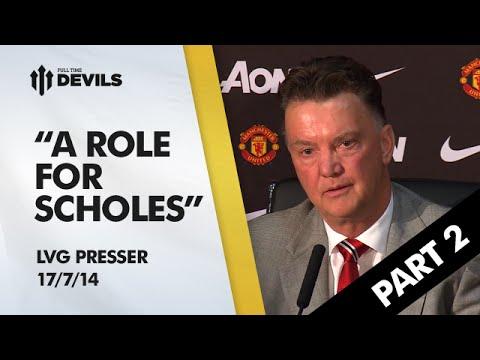 Louis van Gaal Manchester United Press Conference | Part 2