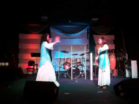 Danza Creelo - Sheila Romero, Min. Danzas Kairos,sanando La Tierra Internacional video