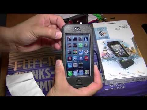 LifeProof Nuud iPhone 5 Water Proof Case Unboxing & First Look